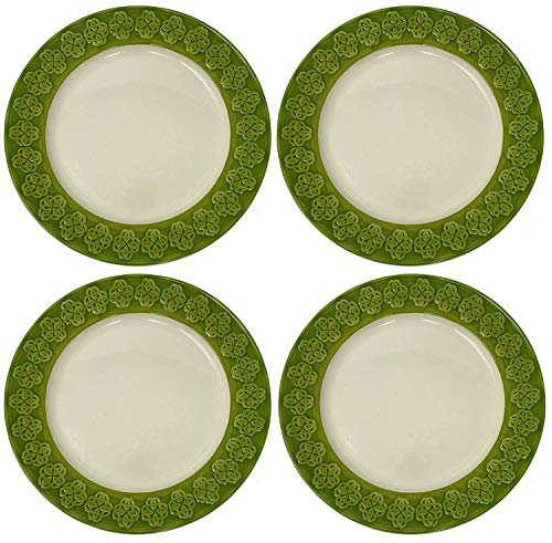 Celtic Classics Relief Pattern Celtic Links Dinner Plates,