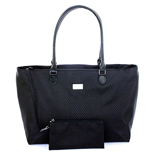 Grace Handbag Laptop Uptown Baggallini Black qgn4xRd