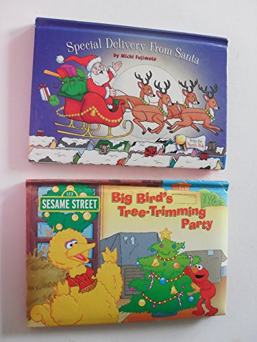 Special Delivery From Santa and Big Bird's Tree-Trimming Party (Pop-Up Hardcover s) ()