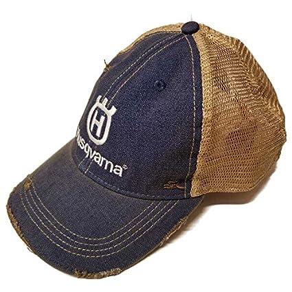 cd3740562 Husqvarna Trucker Hat Dark Blue With White Logo