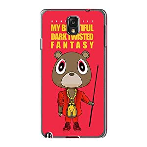 Perfect Cell-phone Hard Covers For Samsung Galaxy Note 3 (PAO1280WpEy) Customized Stylish Kanye West Album Image