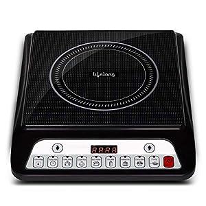 Lifelong Inferno LLIC30 2000 Watt Induction Cooktop (Grey)