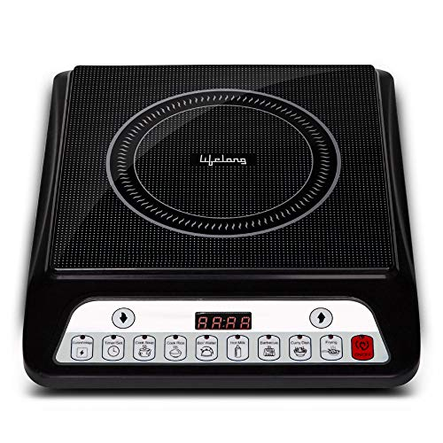 Lifelong Inferno LLIC30 2000 Watt Induction Cooktop (Black)