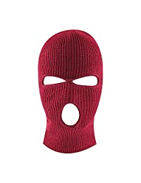 Super Z Outlet Knit Sew Acrylic Outdoor Full Face Cover Thermal Ski Mask