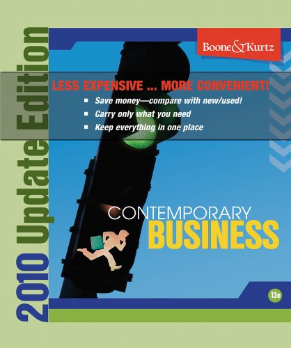 Contemporary Business 13th Edition 2011 Update Binder Ready Version