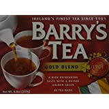 Barrys Gold Blend Tea Bags, 80 Count (Pack of 6)