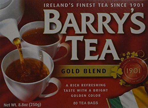 Barrys Gold Blend Tea Bags, 80 Count, 8.8 Ounce (Pack of (Barrys Gold Blend Tea)
