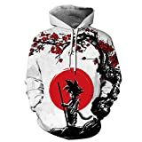 GOPOSUN 3D Graphic Printed Hoodies for Men,Women, Unisex Pullover Hooded Shirts, Wukong-lxl, Large / X-Large