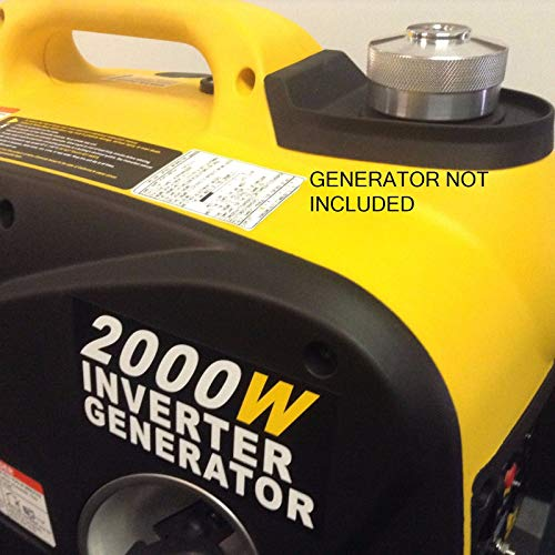 Feather butterfly Replace Wen 2000W Inverter Generator Extended Run Fuel Cap by Feather butterfly (Image #1)