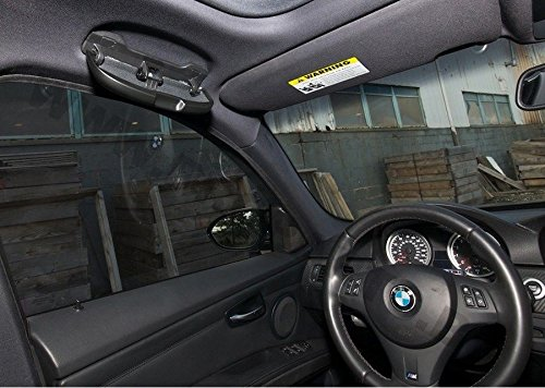 BMW S/érie 3/E90/E92/S/érie 1/E87/E81/Overhead Toit Lunettes bac de rangement Noir