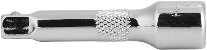 EBTOOLS Asta di prolunga extra lunga 1//4 di pollice per presa a cricchetto Maniglia in acciaio resistente A