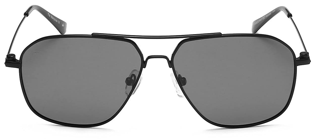"88066c5eec Amazon.com  PRIVÉ REVAUX ""The Marquise"" Handcrafted Designer Polarized Aviator  Sunglasses For Men   Women  Clothing"