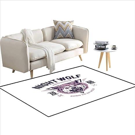Amazon.com: Carpet, Born to be Wild Angry Animal Vintage ...
