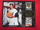 Yankees Thurman Munson 2 Card Collector Plaque #2 w/ 8x10 Rookie Locker Room Photo