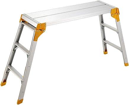 Casa Escalera portátil, Escalera plegable Escalera multifuncional de metal Escalera simple para el hogar Tamaño 100 * 30 * 8 CM Engrosado (Tamaño : 100 * 30 * 8CM): Amazon.es: Bricolaje y herramientas