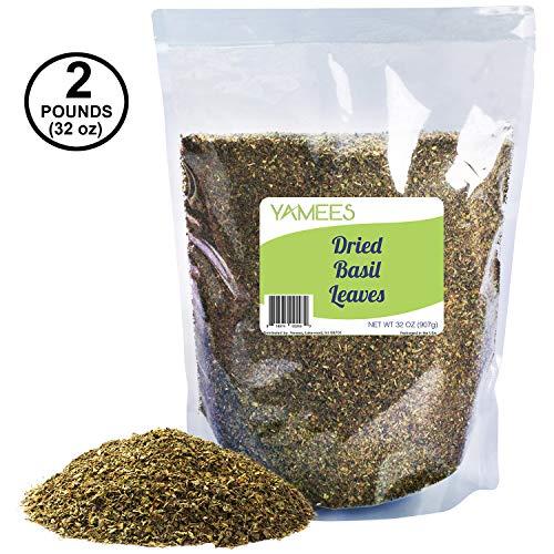 Basil Leaves – Dried Basil – Basil Bulk – Basil Spice - Bulk Spices – 32oz, Mega Bag