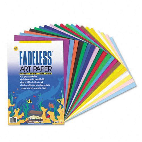 Fadeless Assorted Paper, 50 lbs., 12 x 18, 60 Sheets/Pack, Sold as 1 Package Photo #3