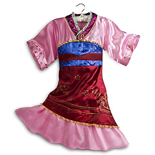 Disney Store Mulan Costume Dress Halloween Size M Medium 7 - -