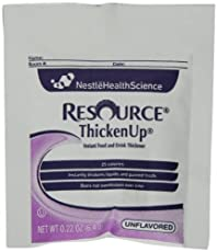 RESOUCE THICKENUP Instant Food Thickener is appropriate for individuals with dysphagia.
