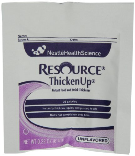 Resource Thicken Up, Instant Food and Drink Thickener, 0.22 Packets (Pack of - Drink Food And