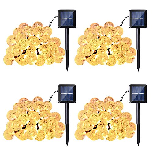 Bubble Solar Garden Lights - 8