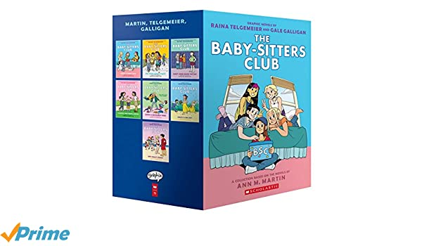 The Baby-Sitters Club Graphic Novels #1-7: A Graphix