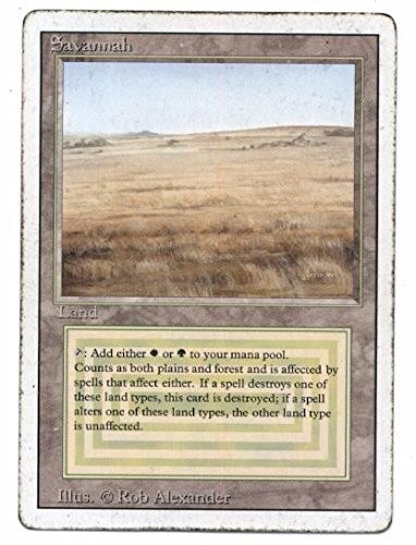 Magic: the Gathering - 3rd / Revised Edition - Savannah (Rare Dual Land)