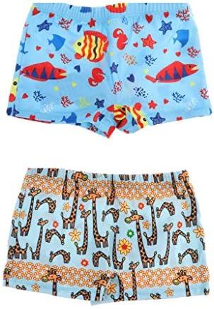 子供服 水着パンツ 漫画プリント スイムショーツ ビーチパンツ 夏 ビーチ 海水浴 水泳 2XL