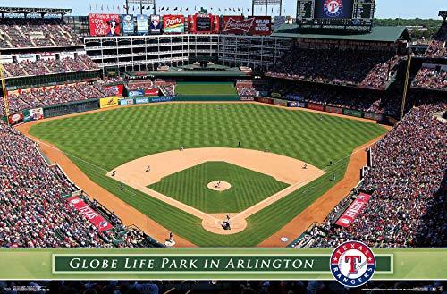 (Trends International Texas Rangers - Globe Life Park Wall Poster, 22.375