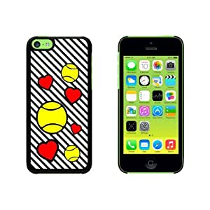 Tennis Love Snap On Hard Protective Case for Apple iPhone 6 4.7 - Black