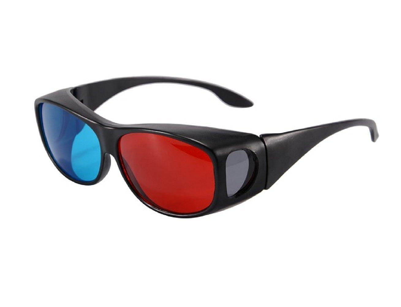 Inception Pro Infinite Occhiali - Visione 3D - Anaglifici - Altissima Qualità - TV - Film - Giochi - Unisex - Uomo - Donna