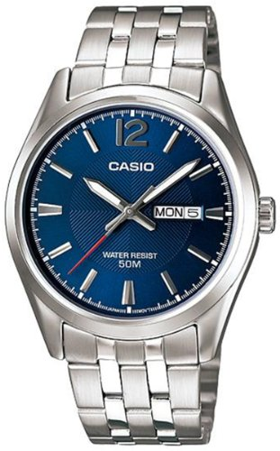 Casio Classic Silver Watch MTP1335D 2A