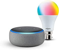 Flat 45% off + free smart bulb | Echo Dot