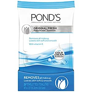 Pond's Moisture Clean Towelettes Original Fresh 28 ct