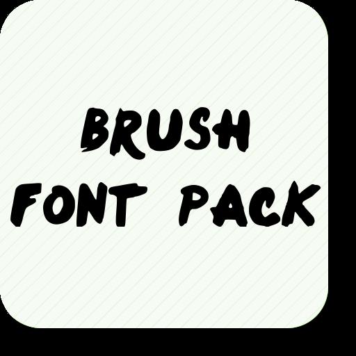 Brush Font Pack