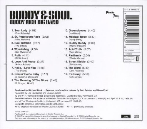 Buddy & Soul: Recorded Live in Hollywood at the Whiskey A Go-Go