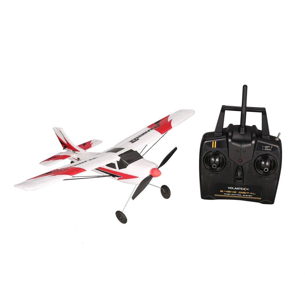 Jasnyfall JASNYFALT Volantex V761-1 2,4 Ghz 3CH Mini Trainstar 6-Achsen RC Flugzeug Fixed Wing Drone