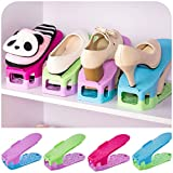 4pcs Loaded Removable Storage Shoe Storage to Save Space, Tool Which Use to Shoes Shelf