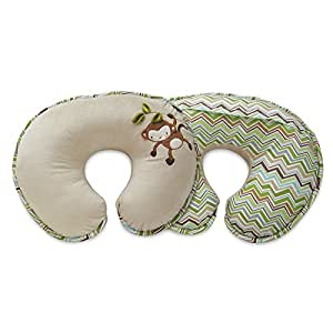 Boppy Nursing Pillow and Positioner, Luxe Monkey Chevron