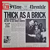 JETHRO TULL Thick As A Brick LP Vinyl VG++ Cover VG+ GF 1972 MS 2072