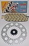 1990 - 2014 Kawasaki KLR650 KLR 650 CZ Gold MX Chain And Sprocket 14/43 120L