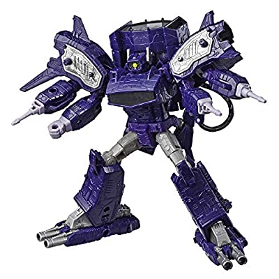 Transformers Generations War for Cybertron: Siege Leader Class WFC-S14 Shockwave Action Figure: Toys & Games
