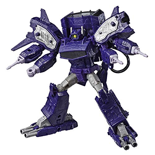 - Transformers Generations War for Cybertron: Siege Leader Class WFC-S14 Shockwave Action Figure