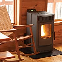 Castle Stoves Serenity 1500 Sq Ft Wood Pellet Stove (12327)