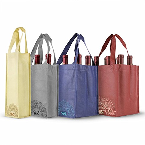 6 Bottle Wine Carrier - 7