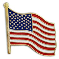American Flag Lapel Pin BUY ONE GET ONE FREE