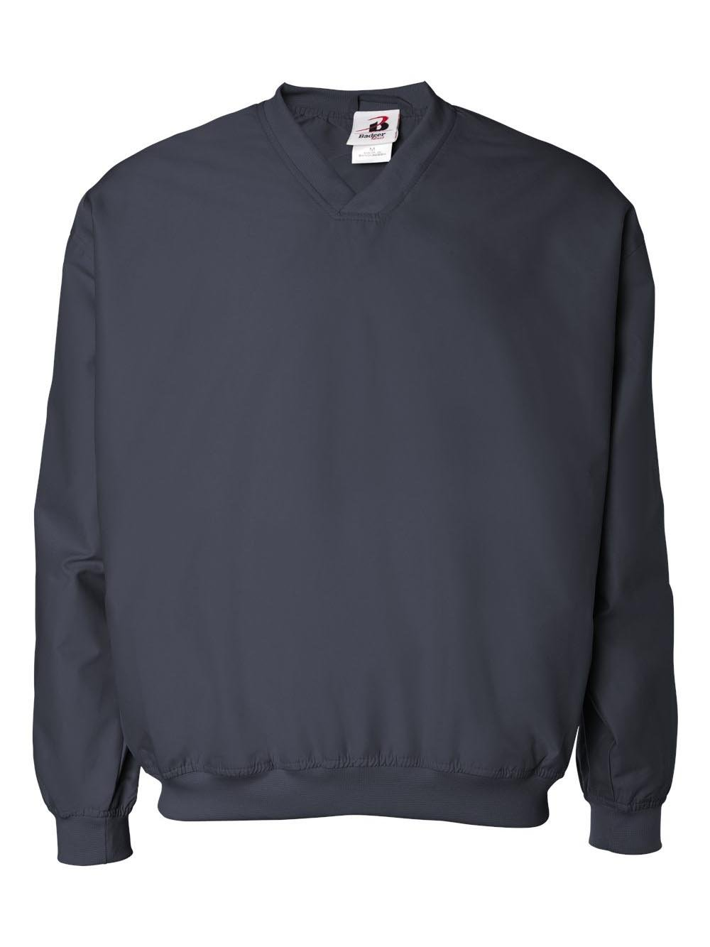 Badger Sport Microfiber Windshirt - 7618 - Navy - X-Large