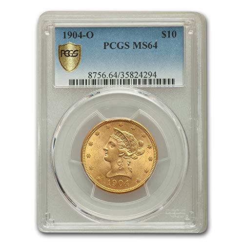 1904 O $10 Liberty Gold Eagle MS-64 PCGS G$10 MS-64 PCGS