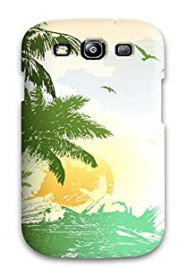 All Green Corp's Shop New Style 1976041K37996007 Top Quality Rugged Nature Hd Vector Case Cover For Galaxy S3