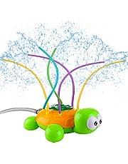 LIHAO 1 x sprinkler speelgoed schildpad watersproeier voor kinderen waterspeelgoed mini tuin gazon outdoor, 12 x 27,5 x 20,5 cm (herbruikbaar)